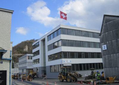 Schild Areal, Liestal